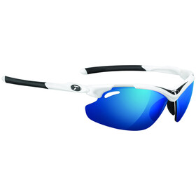 Tifosi Tyrant 2.0 Glasses white/black - clarion blue/AC red/clear